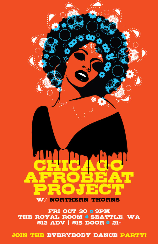 Chicago Afrobeat Project with Northern Thorns, The Royal Room