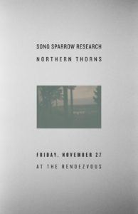 Song Sparrow Research with Northern Thorns The Rendezvous