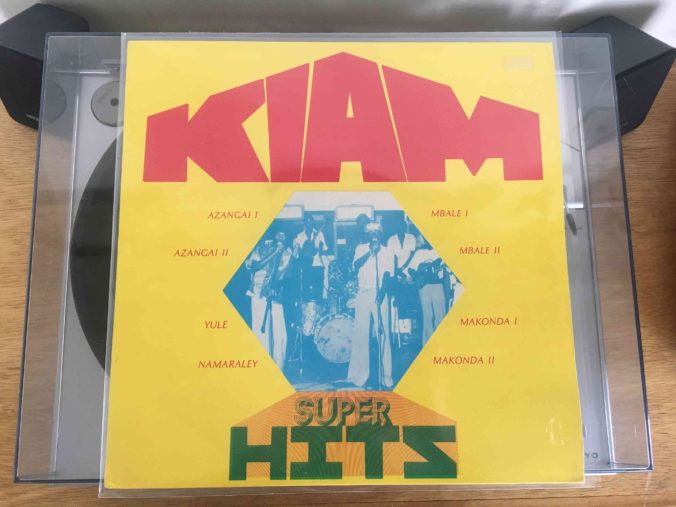 Orchestre Kiam Super Hits Vol. 1 Front Cover