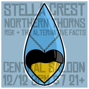 Northern Thorns with Stella Crest @ Central Saloon